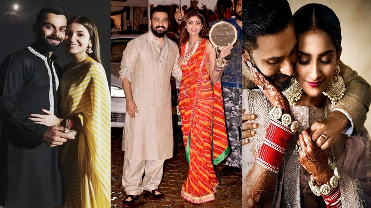 Bollywood Celebrities on Karwa Chauth