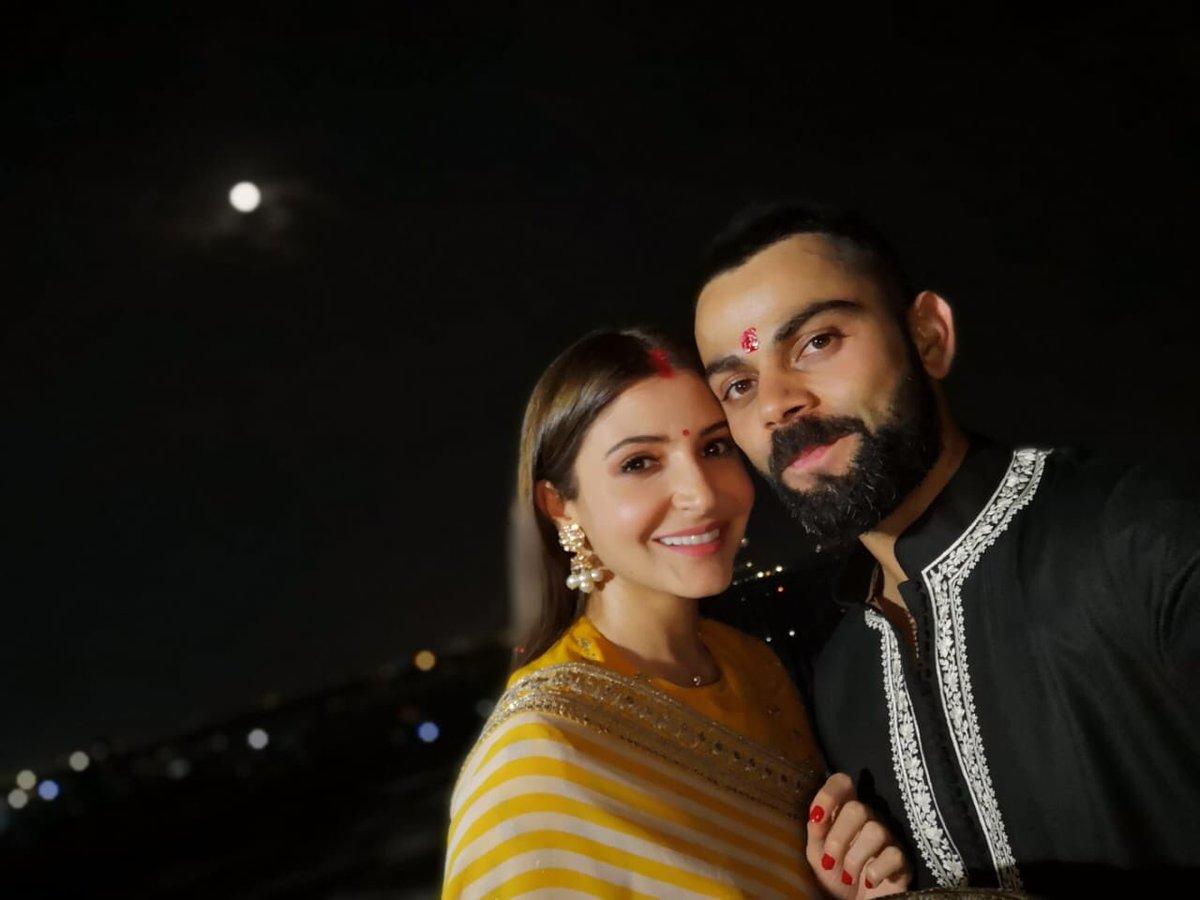Virat & Anushka on Karwa Chauth